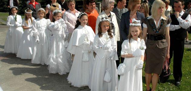 Komunia święta czy mały ślub