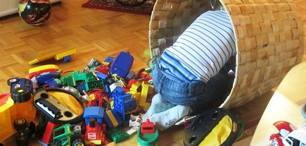 Jak nauczyć dziecko porządku?