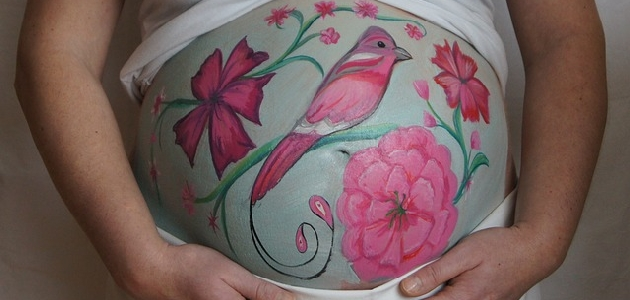 Malowanie brzuszków