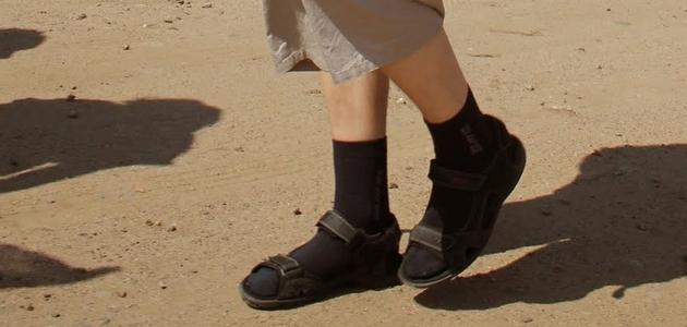 Skarpety do sandałów, czyli moda po polsku