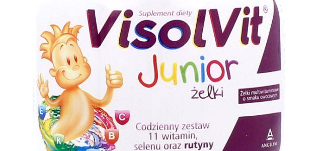 VisolVit Junior Żelki - W zdrowym ciele zdrowy duszek!