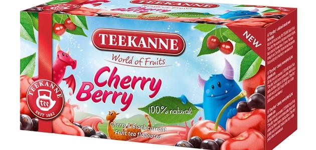 Herbatka TEEKANNE Cherry Berry