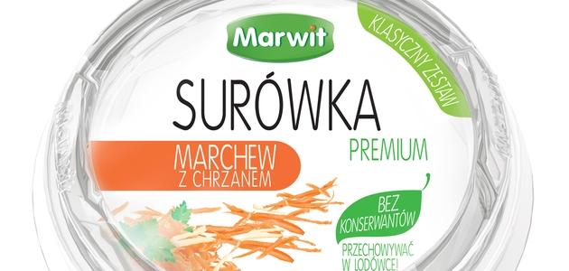 Marwit – Surówka Premium o smaku: marchew z chrzanem
