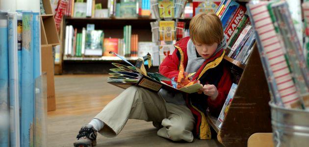 Zachęcamy dziecko do czytania