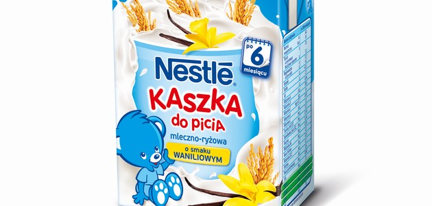 Rodzina kaszek do picia Nestlé powiększa się!