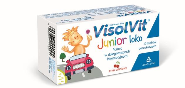 Każdy dystans jest spoko z Visolvit Junior loko!