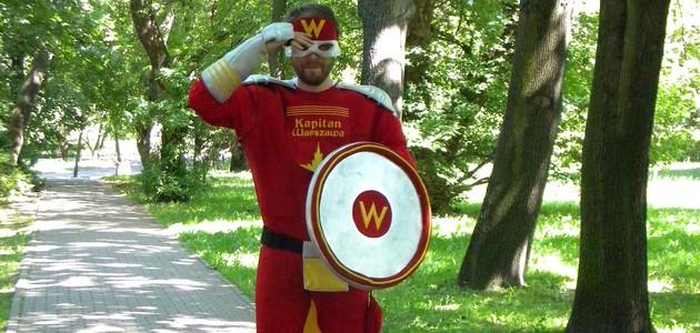 Rozwiąż zagadkę swojej dzielnicy i zostań Superbohaterem! Kapitan Warszawa szuka właśnie Ciebie!