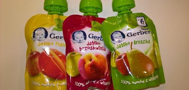 Owocowe desery w tubkach od Gerbera – recenzja