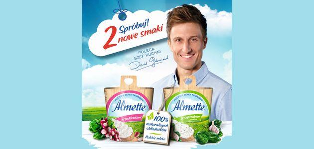 Nowe wyjątkowe smaki - Almette