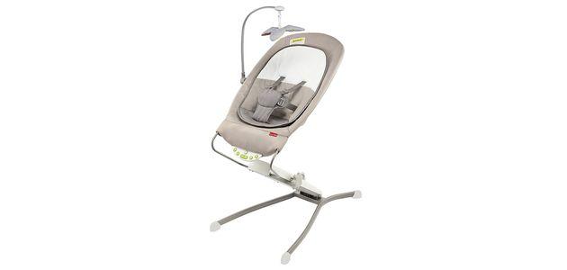 Bezpieczny i wygodny  leżaczek  dla niemowlaka