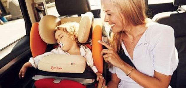 Bezpieczne dziecko podczas letniej podróży