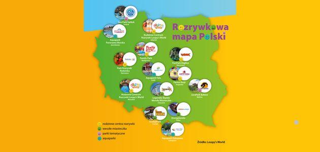 Moc wrażeń w polskich parkach rozrywki