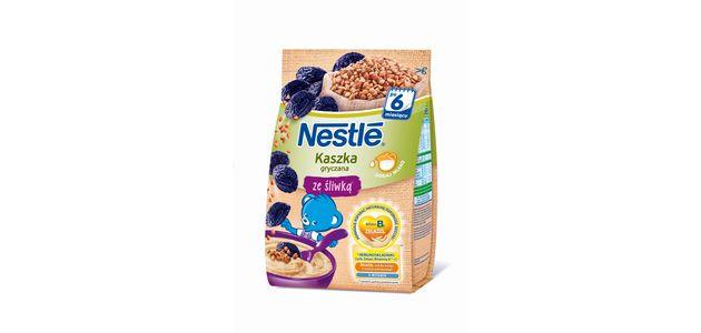 Maluszki i ich rodzice polubili kaszki gryczane Nestlé